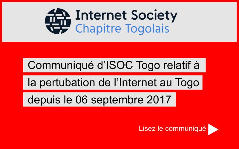 Communiqué du 06 septembre 2017
